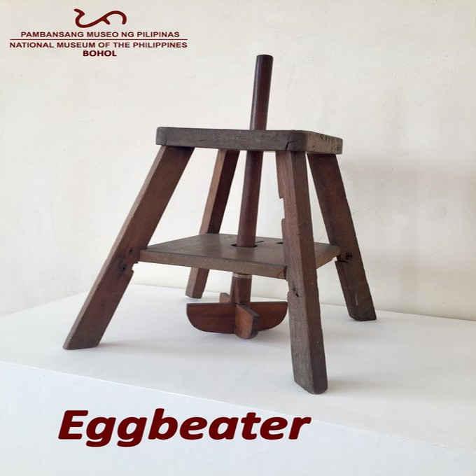 wooden eggbeater