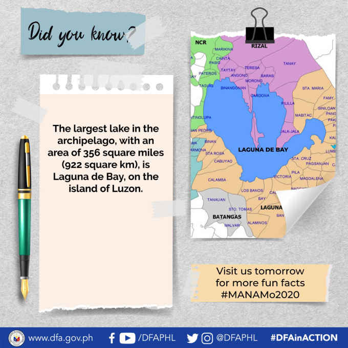 largest lake in the philippines