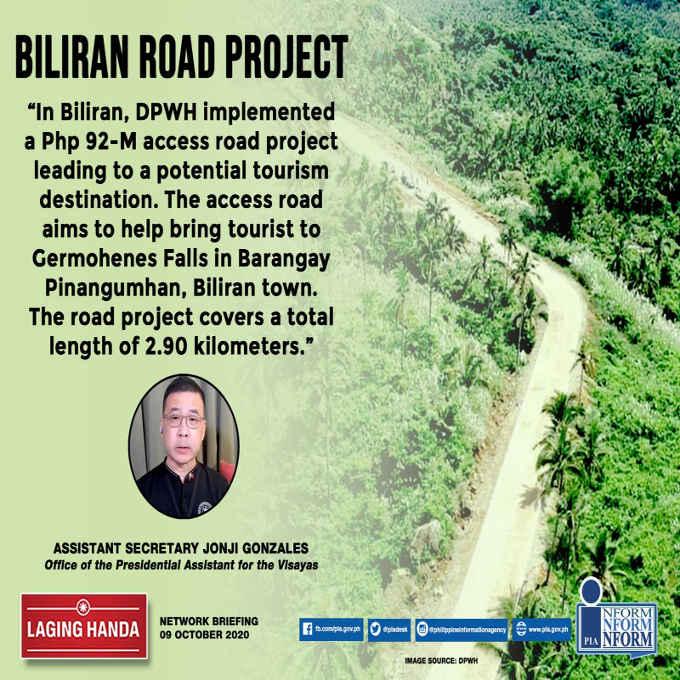 biliran road project