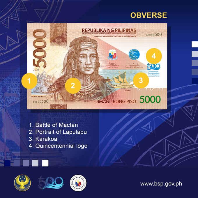 lapulapu commemorative banknote obverse